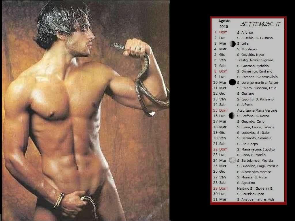 Garko Calendario.Gabriel Garko Pettoralifamosi